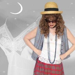 Retro Camisole or Pinup Lace Pajama Tank Top